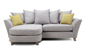 4 Seater Pillow Back Lounger Harlow