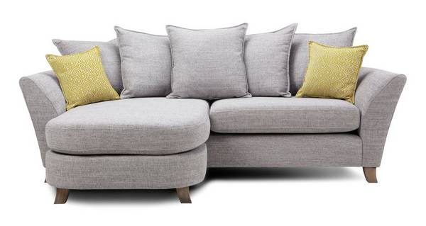 Harlow 4 Seater Pillow Back Lounger
