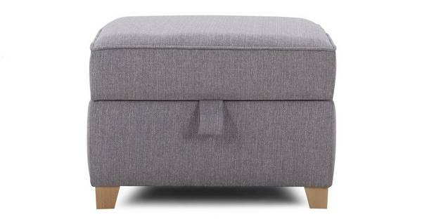 Harrow Plain Storage Footstool