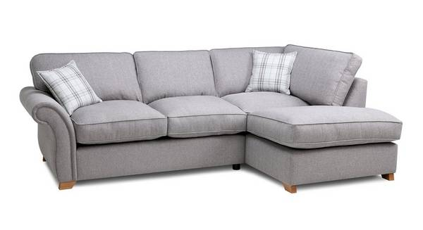 Harrow Plain Left Arm Facing Formal Back Corner Sofa