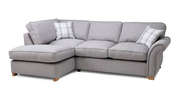 Harrow Plain Right Arm Facing Formal Back Corner Sofa