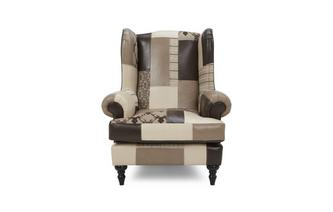 High Wing Back Chair Hart Patch