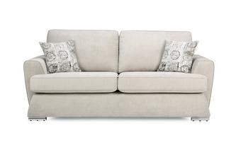3 Seater Sofa with Removable Arms Plaza