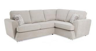 Haze Left Hand Facing 2 Seater Corner Sofabed