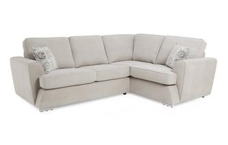 Left Hand Facing 2 Seater Corner Sofabed