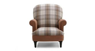 Heaton Check Seat Accent Chair