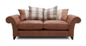 Heaton 3 Seater Pillow Back Sofa
