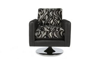 Small Pattern Swivel Chair Helix