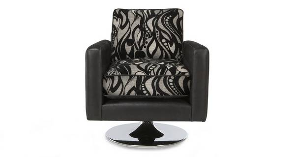Helix Small Pattern Swivel Chair