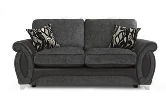 Large 2 Seater Formal Back Deluxe Sofa Bed Helix