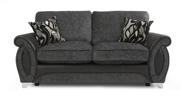 Helix Large 2 Seater Formal Back Deluxe Sofa Bed