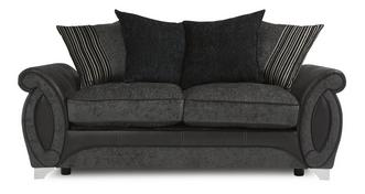 Helix Large 2 Seater Pillow Back Deluxe Sofa Bed