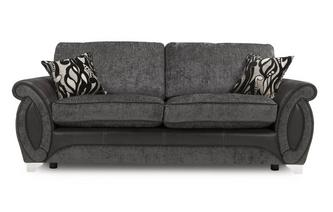 3 Seater Formal Back Deluxe Sofa Bed Helix