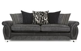 4 Seater Pillow Back Sofa Helix