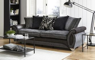 Helix 4 Seater Pillow Back Sofa Helix