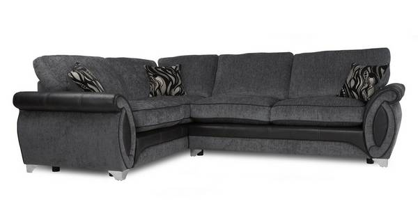 Helix Right Hand Facing 3 Seater Formal Back Corner Sofa