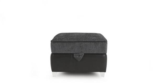 Helix Plain Top Storage Footstool
