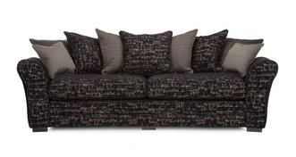 Henley 4 Seater Curved Sofa