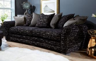 Henley 4 Seater Curved Sofa Henley
