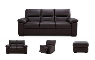 3 & 2 Seater Sofa, Manual Chair & Stool
