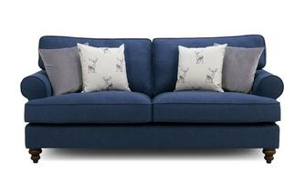 3 Seater Sofa Orkney Plain