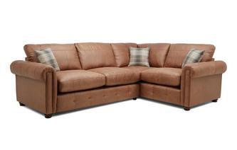 Formal Back Left Hand Facing 3 Seater Standard Corner Sofa Bed