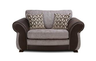Formal Back Cuddler Sofa