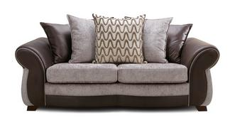 Himara Pillow Back 3 Seater Sofa