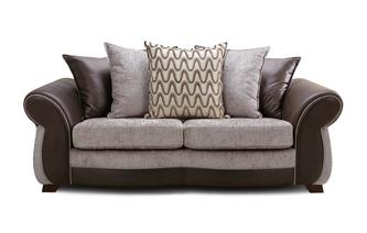 Pillow Back 3 Seater Sofa Himara
