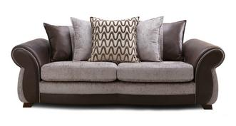Himara Pillow Back 4 Seater Sofa