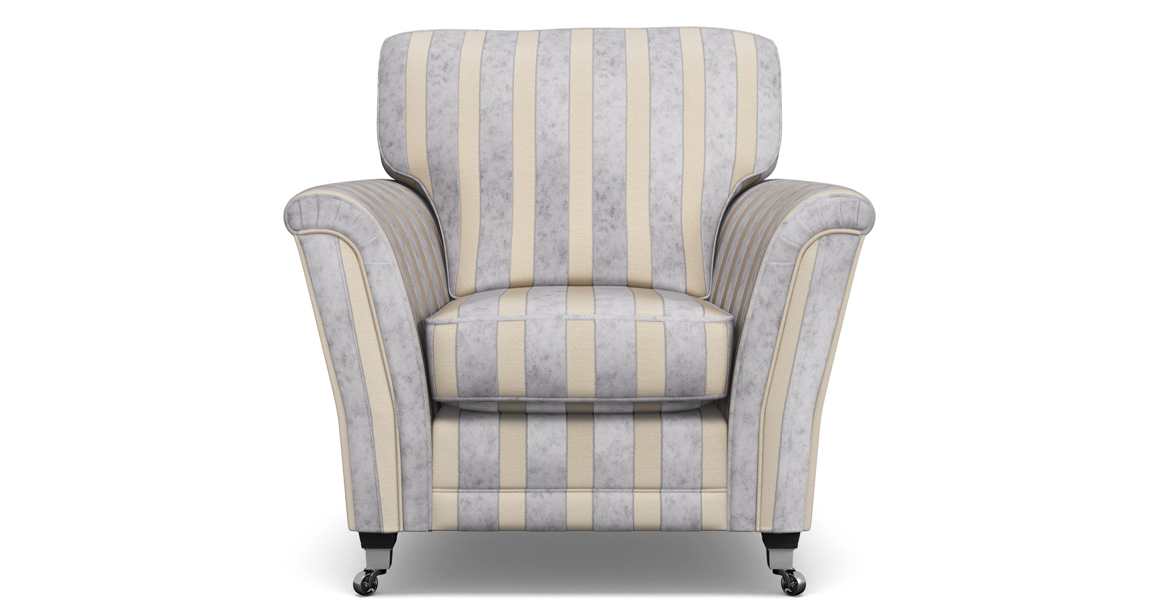 Hogarth Striped Armchair Hogarth Stripe | DFS
