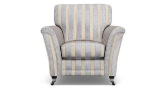 Hogarth Striped Armchair