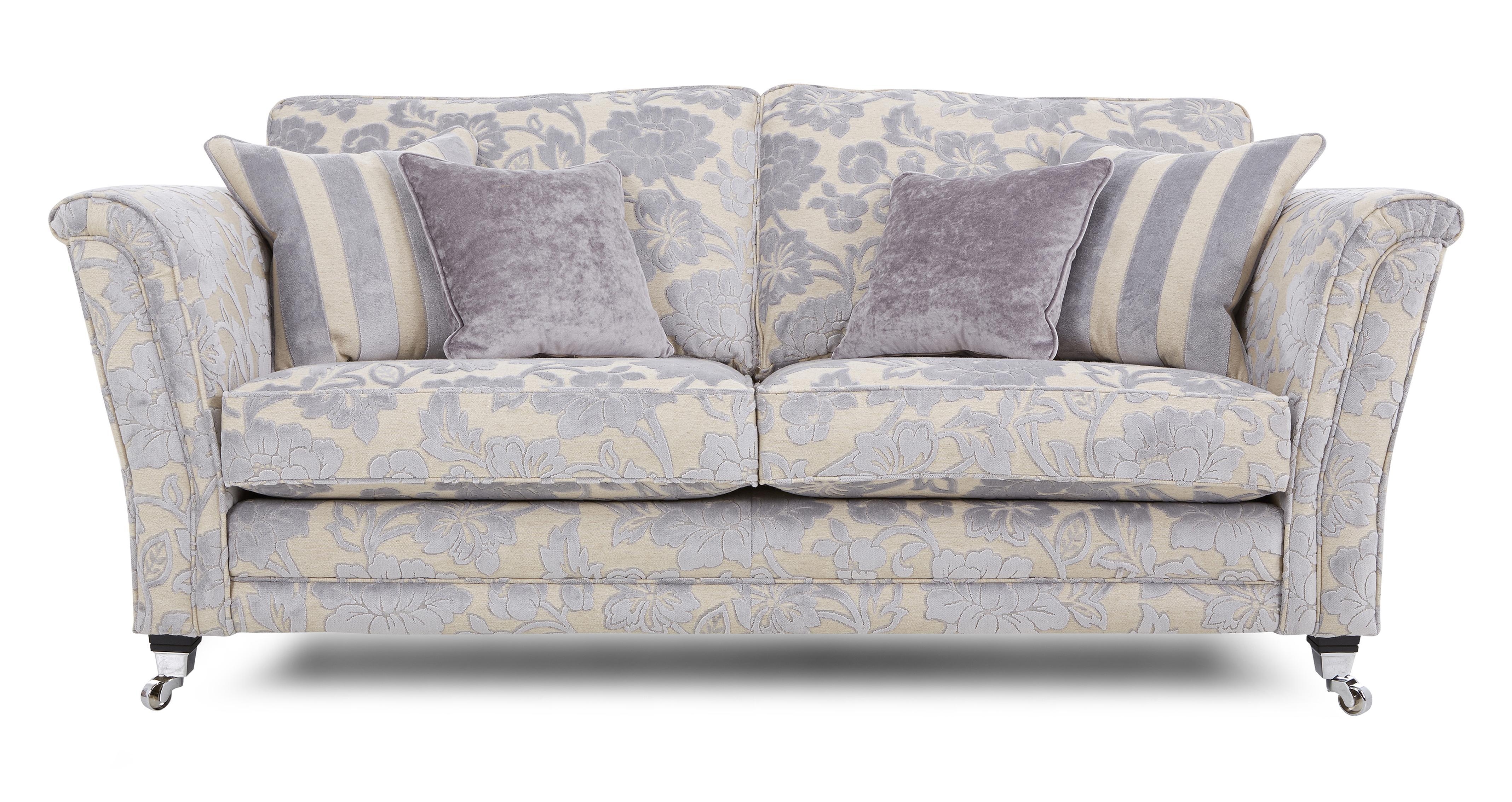 Hogarth Floral 3 Seater Sofa Hogarth Floral Dfs