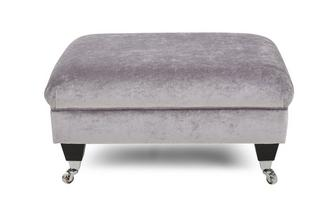 Plain Footstool Hogarth Plain