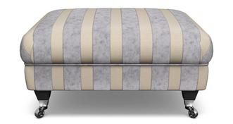 Hogarth Striped Footstool