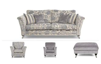 Hogarth Clearance 4 Seater Sofa, Chair, Accent Chair & Stool Hogarth Floral
