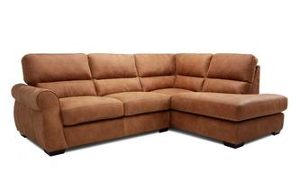 Left Hand Facing Arm Open End Corner Sofa