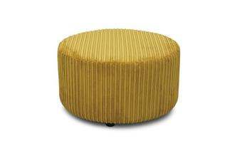 Plain Round Footstool