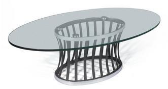 Horizon Oval Coffee Table