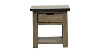 Houston Lamp Table with Drawer