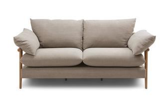 2 Seater Sofa Hoxton Plain
