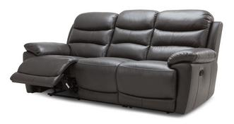 Hudson 3 Seater Manual Recliner