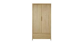 Hyatt Bedroom 2 Door Combination Wardrobe
