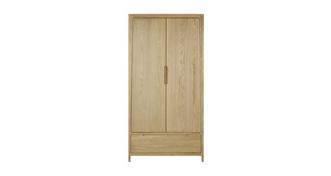 Hyatt Bedroom 2 Door Combination Wardrobe