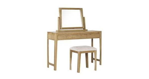 Hyatt Bedroom Dressing Table and Stool