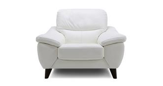 Icon Leather and Leather Look Armchair