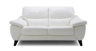 Icon Leather and Leather Look 2 Seater Sofa