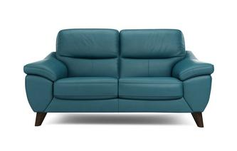 Icon Leather and Leather Look 2 Seater Sofa Premium