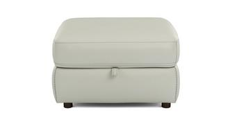 Icon Leather and Leather Look Storage Footstool