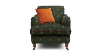 Ilkley Velvet Armchair